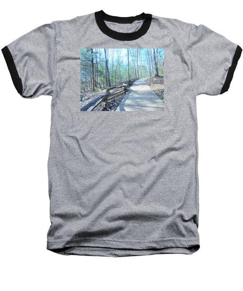 An Autumn Walk In The Woods Baseball T-Shirt