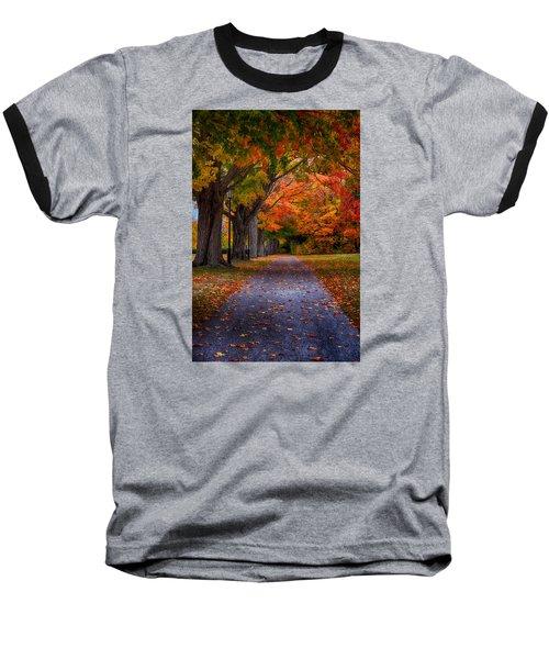 An Autumn Walk Baseball T-Shirt