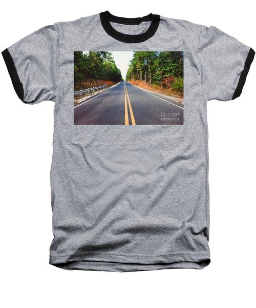 An Empty Road Baseball T-Shirt