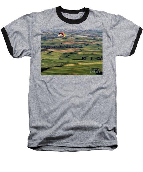 An Evening Flight Agriculture Art By Kaylyn Franks Baseball T-Shirt