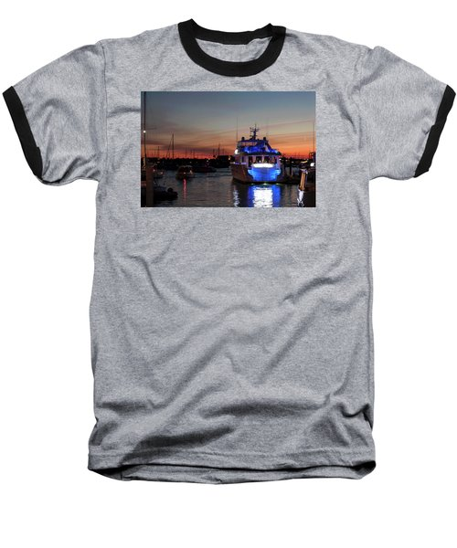 Baseball T-Shirt featuring the photograph An Evening In Newport Rhode Island Iv by Suzanne Gaff
