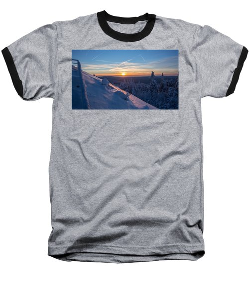 an evening on the Achtermann, Harz Baseball T-Shirt