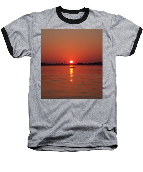 An Evening Row Baseball T-Shirt