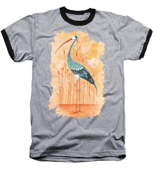 An Exotic Stork Baseball T-Shirt