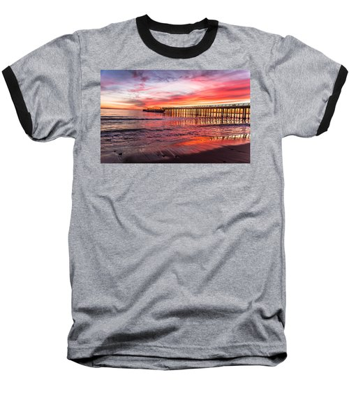 Seacliff Sunset Baseball T-Shirt