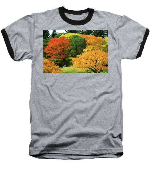 An Explosion Of Color Baseball T-Shirt