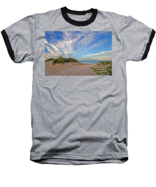 An Invitation - Florida Seascape Baseball T-Shirt