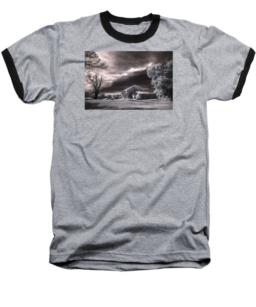 An Ivy Covered Rustic Baseball T-Shirt by William Fields