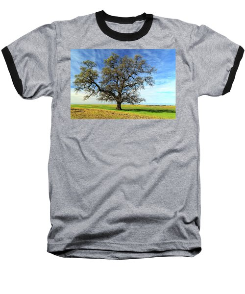 Baseball T-Shirt featuring the photograph An Oak In Spring by James Eddy