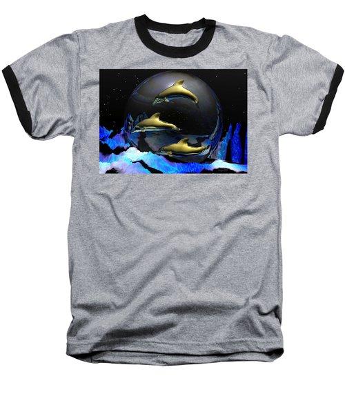 An Ocean Filled With Tears- Baseball T-Shirt