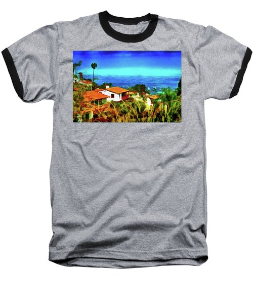 An Ocean View Baseball T-Shirt
