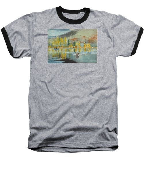 Baseball T-Shirt featuring the painting An October Day by Winslow Homer