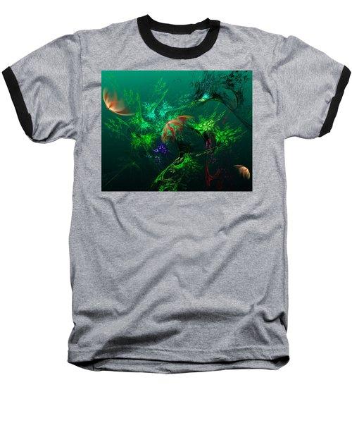 An Octopus's Garden Baseball T-Shirt
