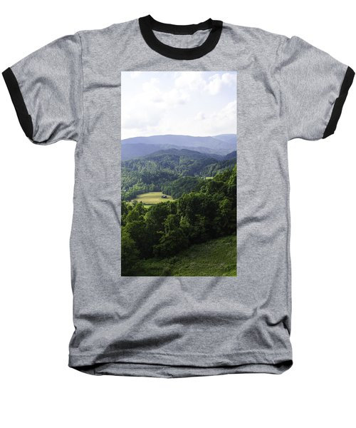 An Old Shack Hidden Away In The Blue Ridge Mountains Baseball T-Shirt
