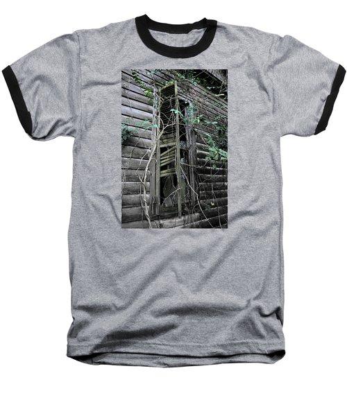 An Old Shuttered Window Baseball T-Shirt