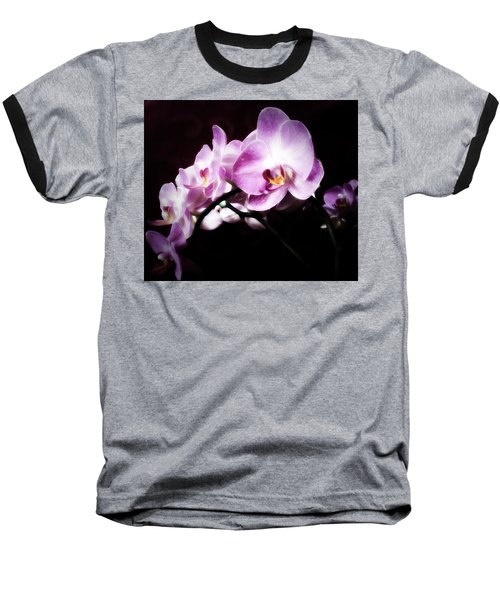 An Orchid For You Baseball T-Shirt by Gabriella Weninger - David