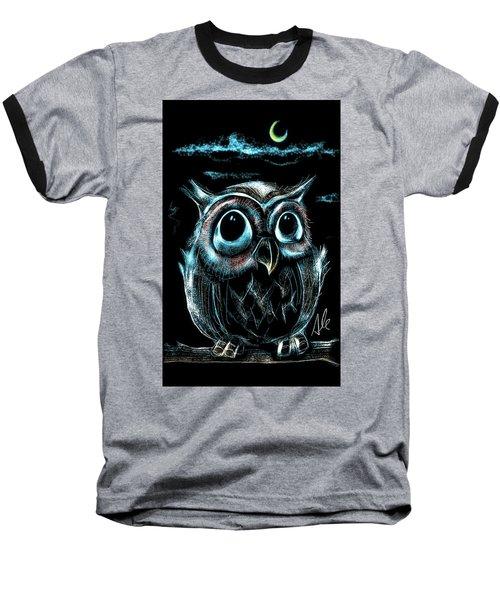 An Owl Friend Baseball T-Shirt