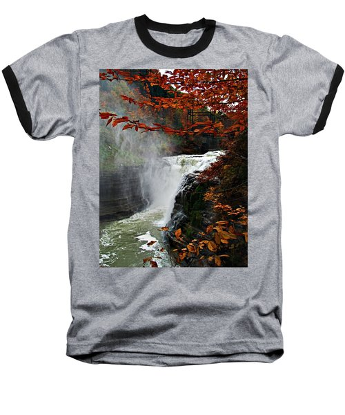 An Upper Letchworth Autumn Baseball T-Shirt