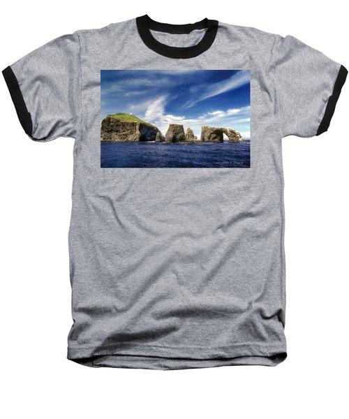 Channel Islands National Park - Anacapa Island Baseball T-Shirt