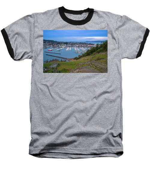 Baseball T-Shirt featuring the photograph Anacortes Peaceful Morning by Ken Stanback