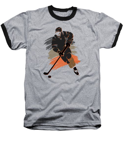 Anaheim Ducks Player Shirt Baseball T-Shirt by Joe Hamilton