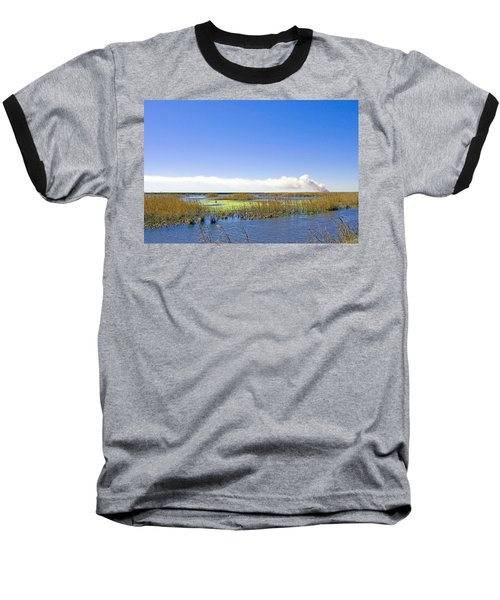 Anahuac Marshes Baseball T-Shirt