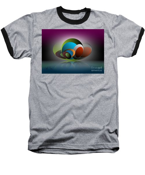 Analogy Baseball T-Shirt by Leo Symon