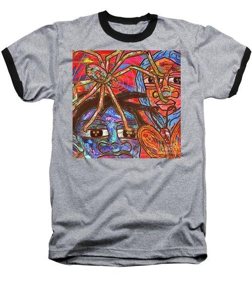 Anansi's Web Baseball T-Shirt