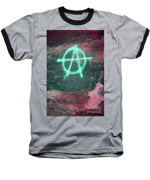 Anarchy In Tallinn Baseball T-Shirt