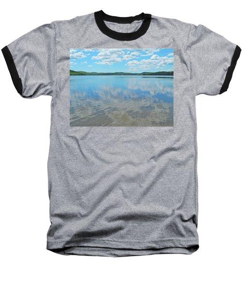 Anasagunticook Lake, Canton, Me, Usa 10 Baseball T-Shirt