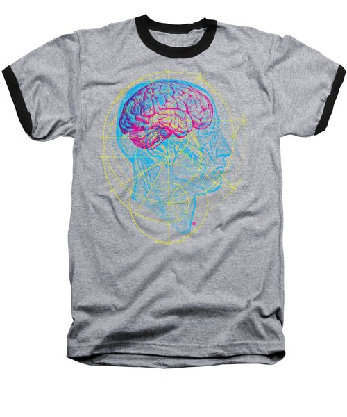 Anatomy Brain Baseball T-Shirt