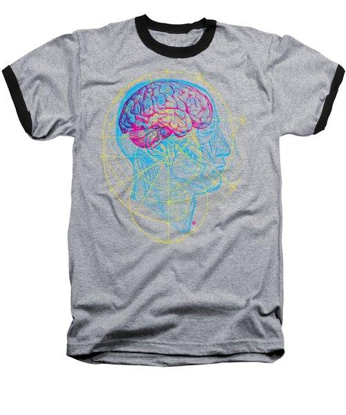 Anatomy Brain Baseball T-Shirt