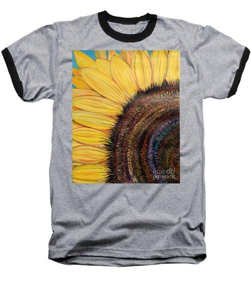 Anatomy Of A Sunflower Baseball T-Shirt