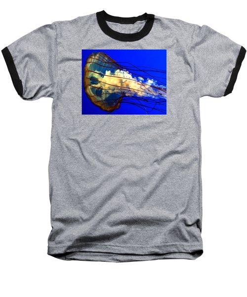 Anatomy Of Sea Nettle Baseball T-Shirt
