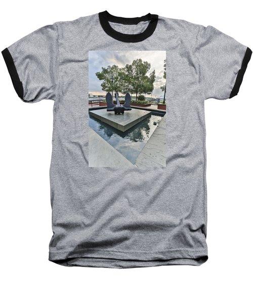 Anchor Monument Baseball T-Shirt