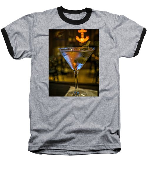 Anchor Your Martini Baseball T-Shirt