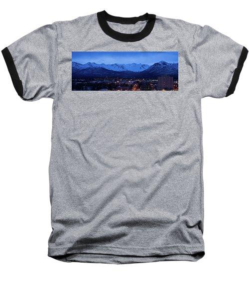 Anchorage At Sunrise Baseball T-Shirt