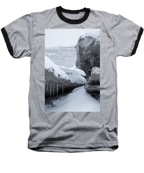 Anchorage In The Icebergs Baseball T-Shirt