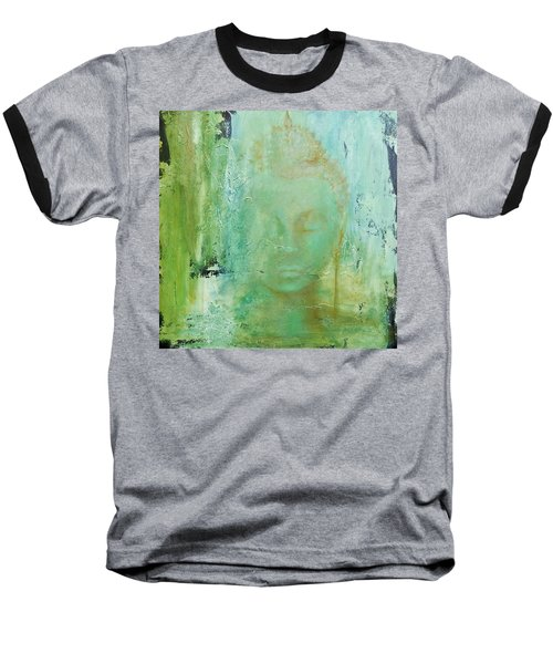 Baseball T-Shirt featuring the painting Ancient Buddha by Dina Dargo