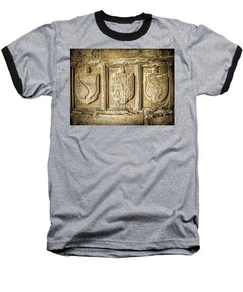 Ancient Carvings Baseball T-Shirt