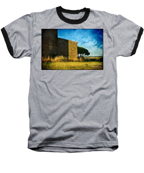 Ancient Church - Italy Baseball T-Shirt