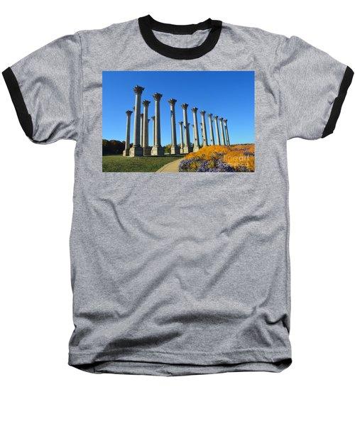 Ancient Corinthian Columns  Baseball T-Shirt
