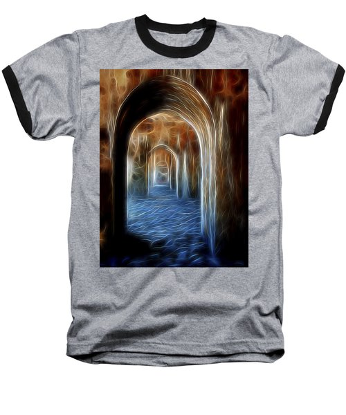 Ancient Doorway 5 Baseball T-Shirt