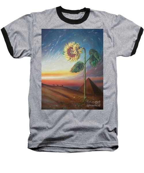Blaa Kattproduksjoner              Ancient Energy Baseball T-Shirt