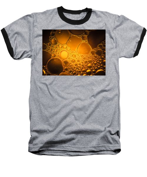 Ancient Gold  Baseball T-Shirt by Bruce Pritchett