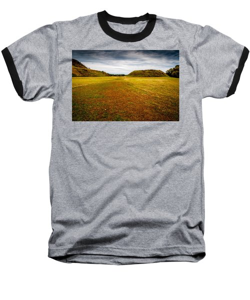 Ancient Indian Burial Ground  Baseball T-Shirt