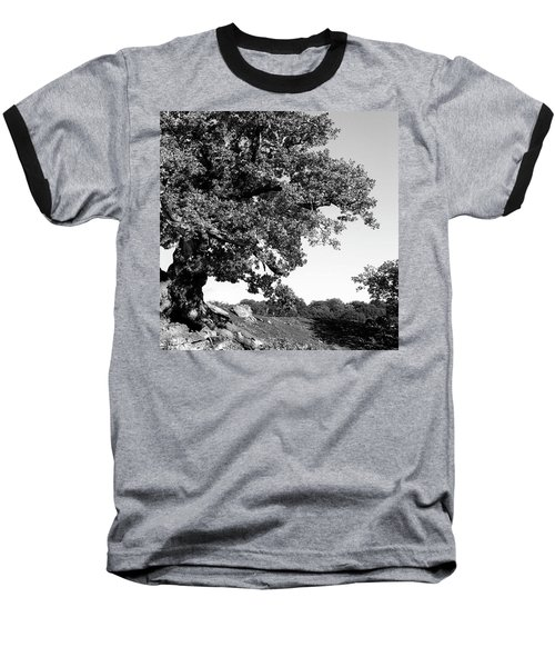 Ancient Oak, Bradgate Park Baseball T-Shirt