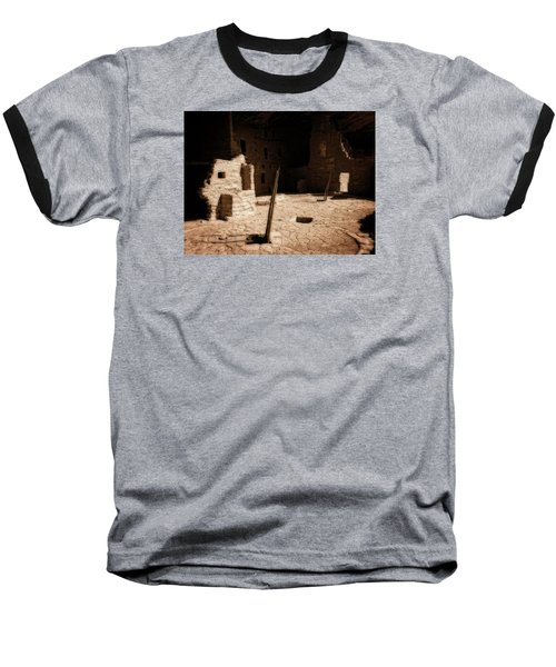 Baseball T-Shirt featuring the photograph Ancient Sanctuary by Kurt Van Wagner