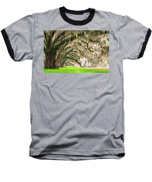 Ancient Southern Oaks Baseball T-Shirt