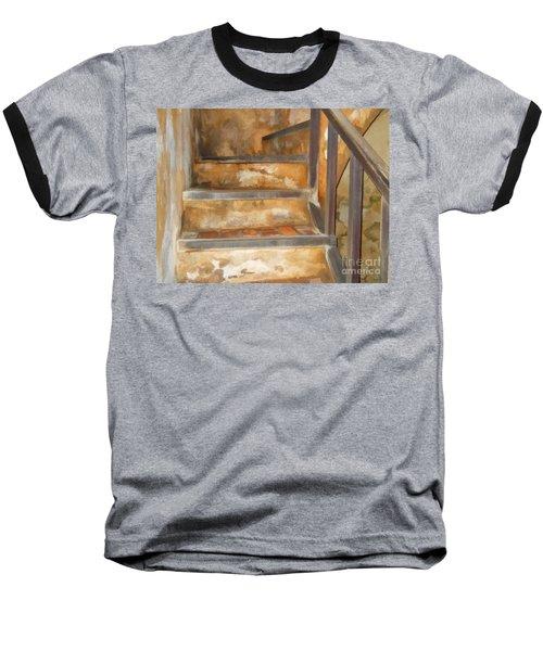 Ancient Stairway Baseball T-Shirt